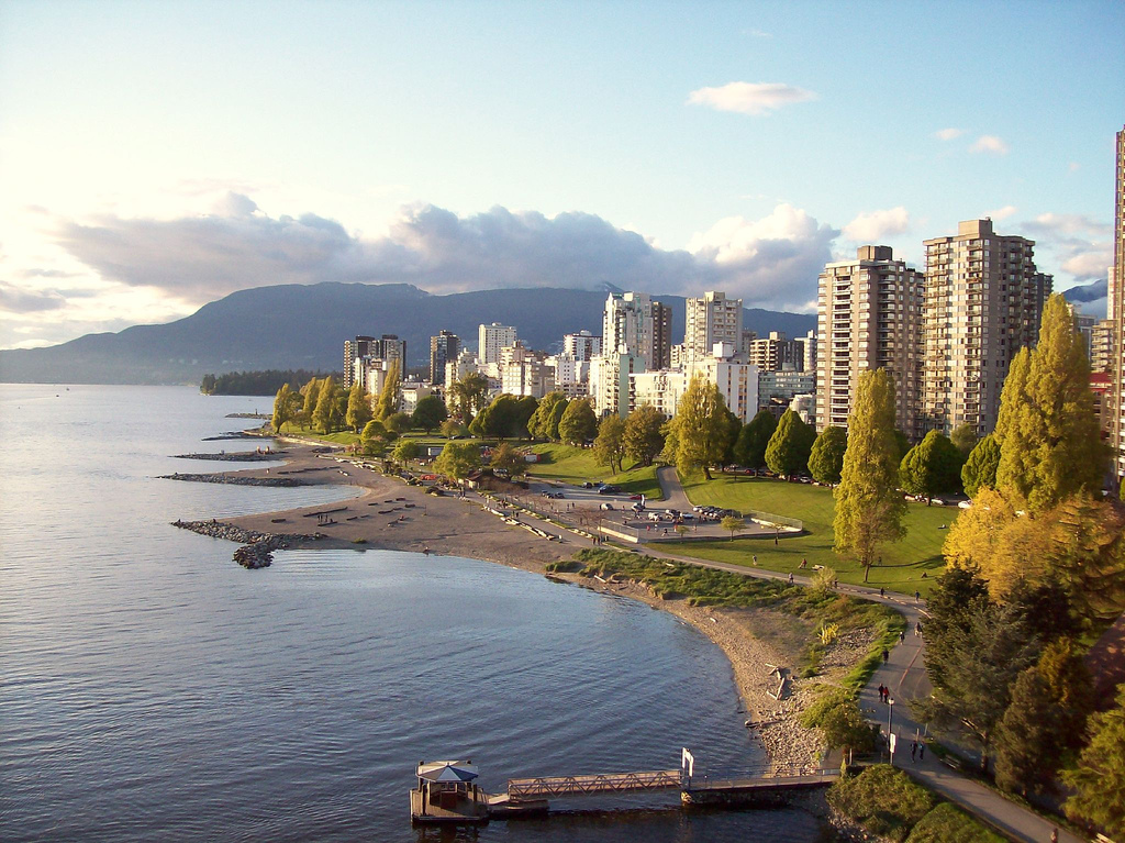 English Bay, Vancouver, Columbia Británica, Canadá