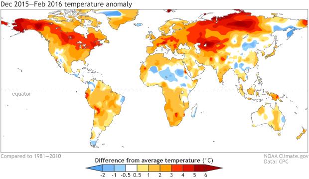 Aceleración del calentamiento atmosférico