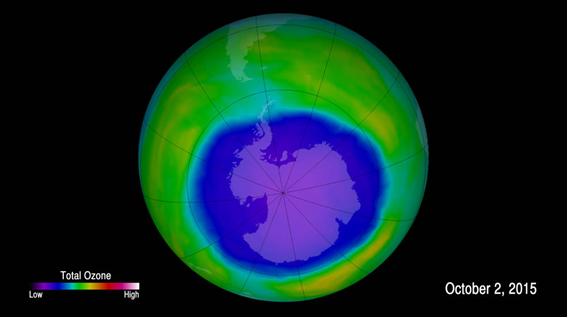 Hoyo de la capa de Ozono